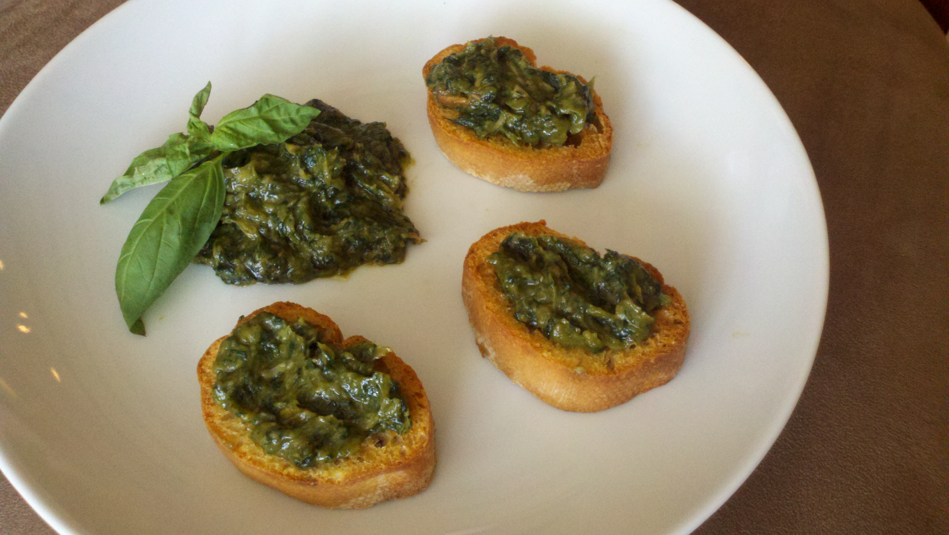 Basil and Roasted Garlic Spread   The Greek Vegan