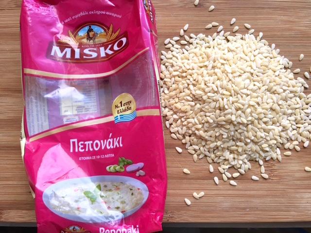 Misko peponaki pasta for tahinosoupa